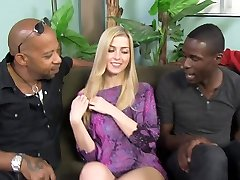 Cute Abigaile Johnson Gets Gang-fucked by BBCs