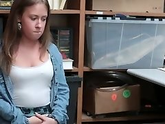 Shoplyfter - Small Teenie Patted down and Boinked