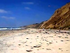 Blacks Beach CFNM - 2 Dressed Girls + 26 Nude Men