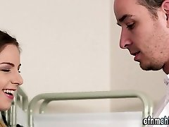 Brit cfnm nurses jerk