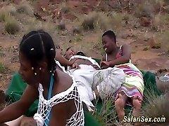african safari groupsex pummel orgy