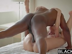 BLACKED Cheating MILF Brandi Luvs First Big Black Penis