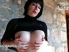 Scorching Tits and black Nylon
