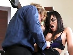 Filthy secretary Eva Angelina