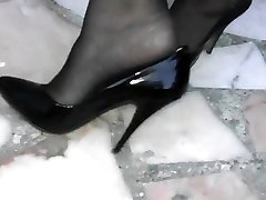 Black High Stilettos 8