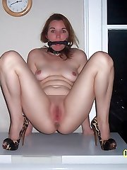 damsel bondage and tit clamps