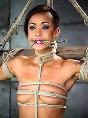 Skin Diamond is one of the hottest honeys in bondage right now. She has the kind of plump, rock-hard butt that is hottest described as slappable and cute, perky baps that you've just got to play with. Her body is amazing, she's a sure ten out of ten. We asked her a lil' bit about herself and the things we found out were exactly what we like to hear - that she is an eager bondage cockslut here to play.