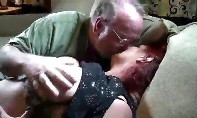 Old BBW Couple