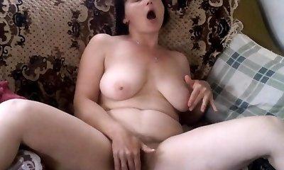 Inexperienced Mature Masturbation