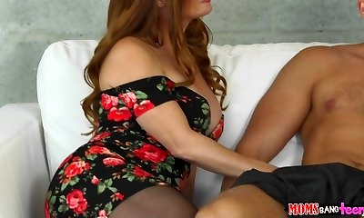 Moms Tear Up Nubile  - Stepdaughter needs some help
