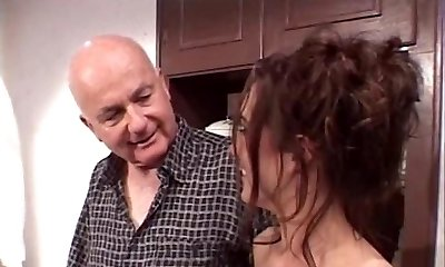 Dude fucks random whore with his wifey looking over them