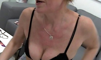 Mature Czech Gal Squirting With Estrogenoli
