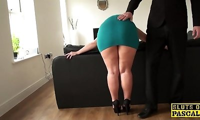 Mature gimp assfucked until red moist and ruined