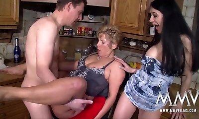 MMV FILMS Big-boobed Mature Amateur Threesome