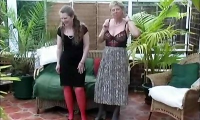 Vintage Village Ladies Summer Stripping Fun