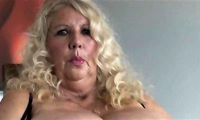 VIP busty blonde tramp pussy boned rigid in close up