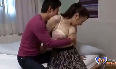Lovely relationship with japanese milf