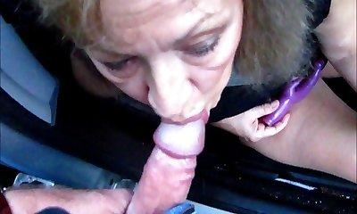 Pretty Mature Wife Sucks Cock Thru Camper Window