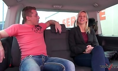 Takevan - Super hot horny Mom caught by hilarious accident