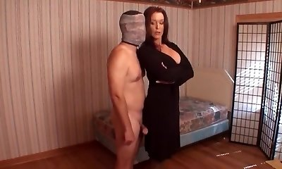 Mummy punishes son for masturbation
