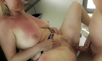 German Mature Internal Ejaculation Free-for-all MILF Porn Video