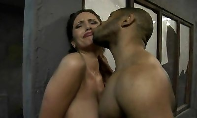 Busty White Bride Taken From Monstrous Black Cock