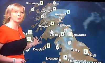Stunning Brit Weather MILF