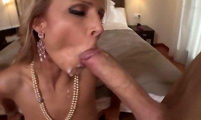 Exotic pornstar Samantha Jolie in hottest mature, blonde porn video