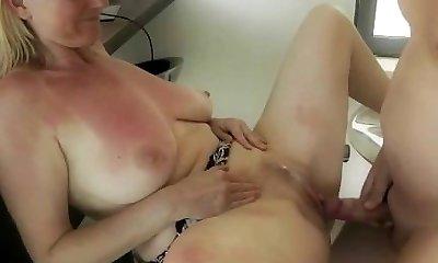 German Mature Creampie Free MILF Porn Video
