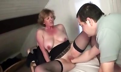 Best Homemade record with Mature, Pantyhose scenes
