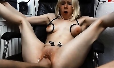 Unexperienced french mature get fisted