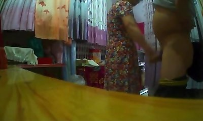 Flashing Made Chinese Grannie Horry