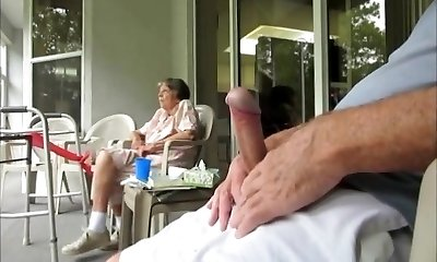 Grandma wished to watch me......i think