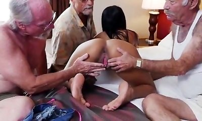 Old mature foot Staycation with a Latin