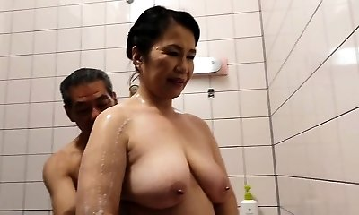 Hairy Pussy Japanese Granny Michiko Okawa