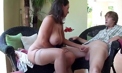 Stepmom Stepson Affair 86 (Mom Sex Education)