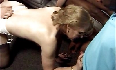 rectal with hairy french matures