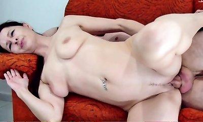 Big congenital boobs Mature