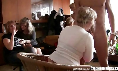 Gonzo MATURE Home Orgy
