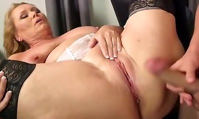 Finest homemade Mature, Stockings sex video