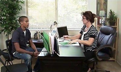 Cougar consular tutors teens scrotum