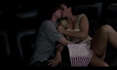 make out with mummy before the movie starts