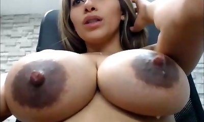 SEXY LATINA BIG SAGGY MILKY Orbs