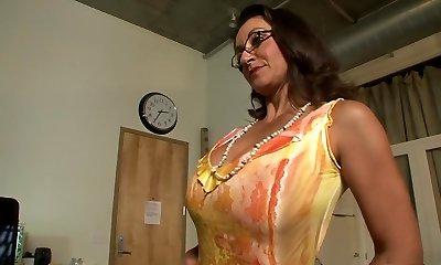 Best pornstars Persia Monir and Bonnie Skye in best black-haired, masturbation xxx scene