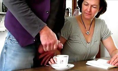 Crazy Amateur clip with Brunette, Grannies episodes