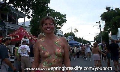 Fantasy Festival in Key West Daytime Milf Nudes