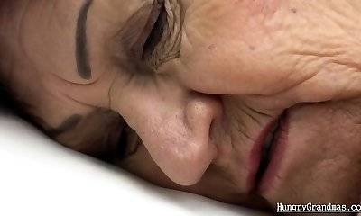Fucking my granny in the outdoors