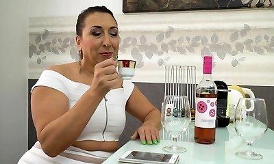 Gilfs pierced vagina tasted