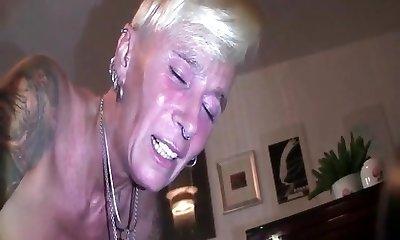 My Sexy Piercings Pierced sub 2 mitt ass fisting