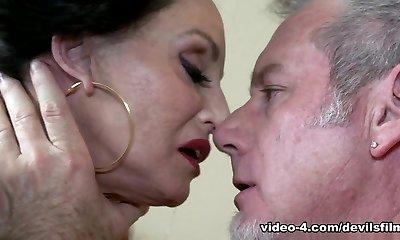 Best pornographic star Jay Crew in Fabulous Brunette, Facial sex clip